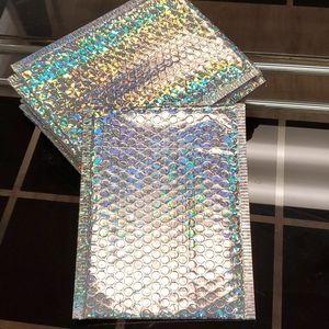 20x25cm (20pcs) holographic bubble mailer